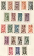 DIVINITÉS  Yv 236-253, 255-7  *,  4 Timbres Oblitérés - Ungebraucht