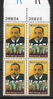 US 1979 Martin Luther King, Jr.,Civil Rights, Plate Block Scott # 1771,VF MNH** (RN-14) - Martin Luther King