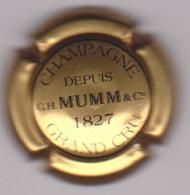 Capsule Champagne MUMM G.H. & Cie ( 123 ; Or Et Noir ) 20€ {S05-20} - Champagne