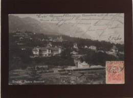 Sinaia Vedere Generalà édit. Ad. Maier & D. Stern  N° 12 Vue Générale  , La Gare Au 1er Plan Gara - Romania