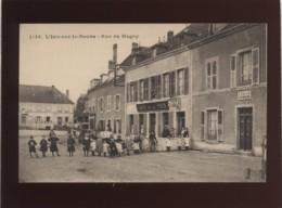 25 L'isle Sur Le Doubs Rue Du Magny édit. Gaillard Pretre N° 1138 Café De La Paix Tabac , Calac Vétérinaire , Animée - Isle Sur Le Doubs