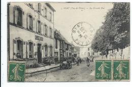 63 , Giat , Prix Revu , La Grande Rue , Hotel Roche , Tacot - Francia