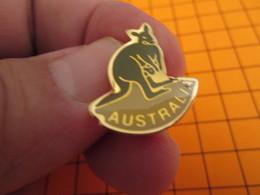 BRO120 Pas Pin's Mais BROCHE état Neuf / THEME ANIMAUX /  KANGOUROU  AUSTRALIE AUSTRALIA - Animaux