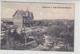 Restaurant U. Cafe Waldenfelsschanze ... Kolberg ... 1923 - Pommern