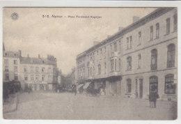 Namur - Place Ferdinand Kegeljan - 1918 Feldpost - Namur
