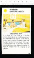 Sheila épouse Ringo  /  01-ES-FD/1 - Vieux Papiers
