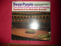 LP N°1718 - DEEP PURPLE - THE ROYAL PHILHARMONIC ORCHESTRA - COMPILATION 4 TITRES - TRES GRAND GROUPE - Rock