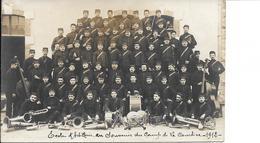 23 . Creuse : Camp De La Courtine .  école D ' Artillerie . 1912  . - La Courtine