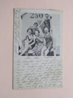 Strandcabine ( N° 250 ) Badpakken ( V & D. à B. N° 191 ) Anno 1906 Blankenberghe > Bruxelles ( Voir / See Photo ) ! - Blankenberge