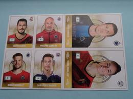 Eden Hazard / Hans Vanaken / Tessa Wullaert / Clement / Simon Mignolet / Yari Verschaeren ( Voir Photo ) Stickers 2020 ! - Trading Cards