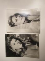 CINEMA Movie Marisa Allasio N.2 Cartoline Diff Nel Film Arrivederci Roma Edizione TITANUS Ed.Ballerini & Fratini Firenze - Künstler