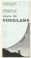 DEPLIANT Technique - Barrage De VOUGLANS 39 - Public Works