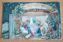 CARTE A SYSTÈME NOEL CRECHE - Christmas