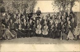 Cp Holzminden An Der Weser, Holzmindener Stadtkapelle 1905, G. Peter - Allemagne