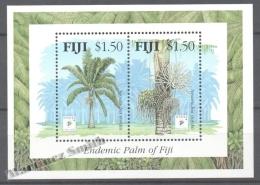 Fiji - Fidji 1994 Yvert BF 14, Singpex ´94, Endemic Palm  - Miniature Sheet - MNH - Fiji (1970-...)