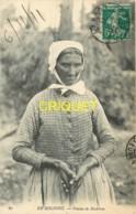 Dépt. 41, En Sologne, Femme De Bûcheron, Belle Carte Pas Courante Affranchie 1911 - France