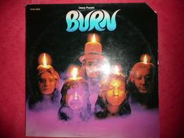 LP N°1722 - DEEP PURPLE - BURN - COMPILATION 8 TITRES - TRES GRAND GROUPE - Rock