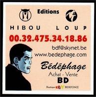 Carte Hibou Loup Bédéphages (Bob Morane Gérald Forton) - Boeken, Tijdschriften, Stripverhalen