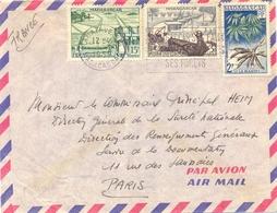 MADAGASCAR TAMATAVE PPAL OMec SECAP De 1-1959 - Madagascar (1889-1960)