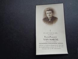 Doodsprentje ( 122 )   Van Marcke / Tanghe  -  St - Eloois - Winkel  1941 - Obituary Notices