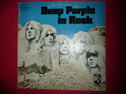 LP N°1728 - DEEP PURPLE - IN ROCK - COMPILATION 7 TITRES - TRES GRAND GROUPE - Rock