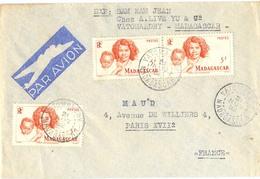 MADAGASCAR VATOMANDRY TàD 21 NOV 52 - Madagascar (1889-1960)