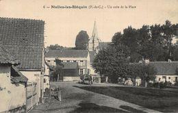 France Nielles Les Blequin Un Coin De La Place Postcard - France