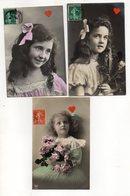 40305-ZE-FANTAISIE-ENFANTS-6 CP Jolis Minois De Fillettes - Postcards