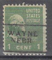 USA Precancel Vorausentwertung Preo, Locals Nebraska, Wayne 701 - Verenigde Staten
