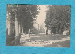 Villenauxe, 1911. - Avenue De La Gare. - Entrée De La Ville. - Altri Comuni