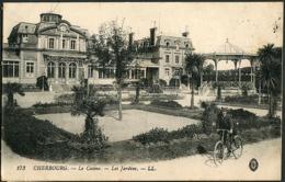 CP 50 Cherbourg - Le Casino, Les Jardins 1916 (Postes Militaire) - Cherbourg