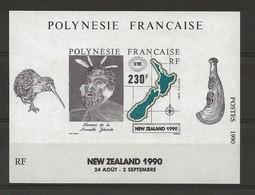 Polynésie Y&T BF 17 Nouvelle Zélande N** MNH - Blocs-feuillets