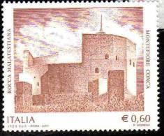 PIA - ITALIA - 2007 : Rocca Malatestiana A Montefiore Conca   - (SAS  2973) - 6. 1946-.. Republik