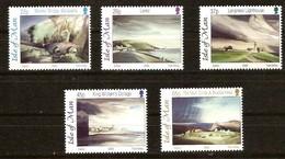 Île De Man  2002 Yvertnr. 1006-1010 *** MNH Cote 10 Euro Art Paysages Toni Onley - Man (Ile De)