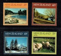 New Zealand 1982 The Four Seasons Set Of 4 MNH - - Nieuw-Zeeland