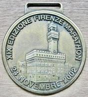 MEDAILLE ATHLETISME XIX EDIZIONE FIRENZE MARATHON 24 NOVEMBRE 2002 - Athlétisme