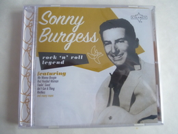 SONNY BURGESS - Rock'n'Roll - CD 30 Titres - Edition CHARLY 2008 - Détails 2éme Scan - Collectors
