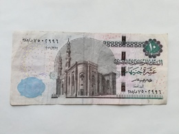 EGITTO 10 POUNDS - Egitto