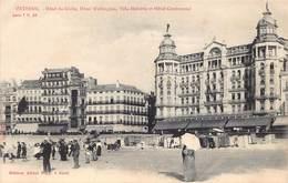 Oostende Ostend  Hotel Du Globe , Hotel Wellington , Hotel Helvétia Et Hotel Continental      M 1822 - Oostende