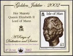 Île De Man 2002 Yvertn° Bloc 49 *** MNH Cote 9,00 Euro Surcharge - Man (Ile De)
