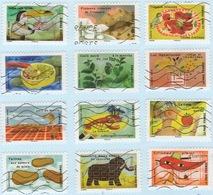 France 2017 Complete Set Of Twelve TASTE Fine Used VFU - Used Stamps