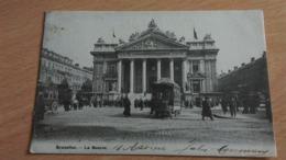CPA -  BRUXELLES - LA BOURSE - Monuments, édifices