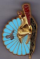 13° RDP/ 4° Esc. 13° Régiment De Dragons Parachutistes/ 4° Escadron. Plumet Grenat. Balme. - Army