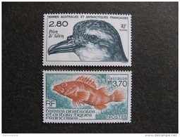TAAF: TB Paire N° 189 Et N° 190, Neufs XX. - Terres Australes Et Antarctiques Françaises (TAAF)