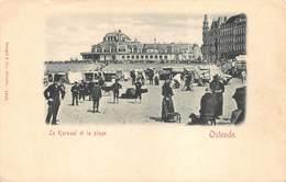 Oostende Ostend  Le Kursaal Et La Plage Kursaal En Het Strand      M 1840 - Oostende