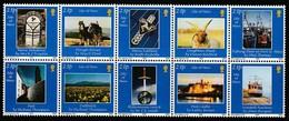 Île De Man 2002 Yvertn° 1033-1042 *** MNH Cote 12,00 Euro - Man (Ile De)