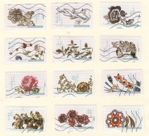 France 2017 Complete Set Of Twelve Jewellery (#3)  Fine Used VFU - Used Stamps