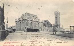 Oostende Ostend  Le Statie  Het Station Treinstation La Gare        M 1858 - Oostende