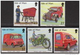Ile De Man 2003 Yvertn° 1069-73 *** MNH Cote 11 Euro Post Office Vehicles - Man (Ile De)