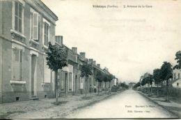 N°2379 T -cpa Vibraye -avenue De La Gare- - Vibraye